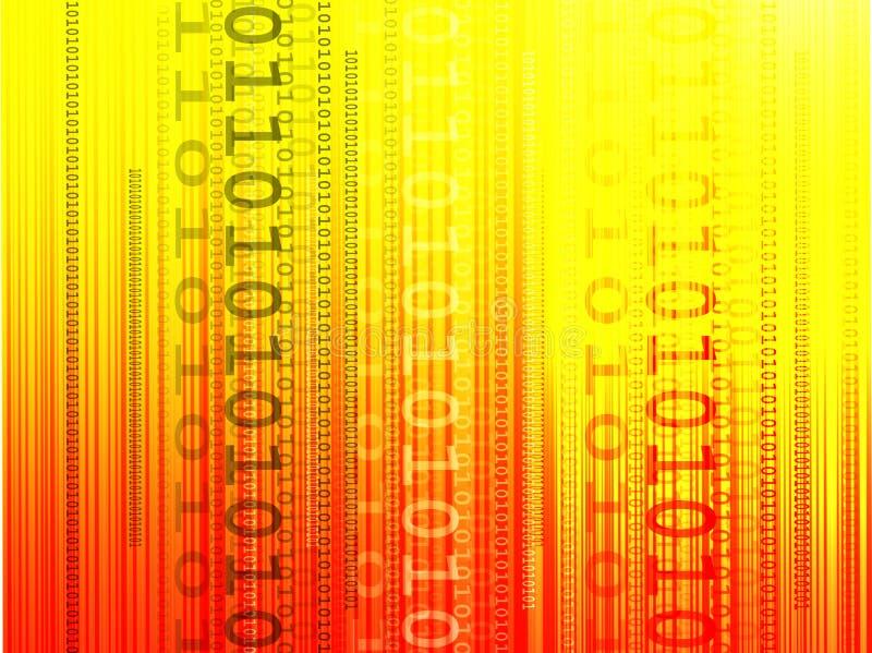 Binärer Hintergrund lizenzfreie abbildung