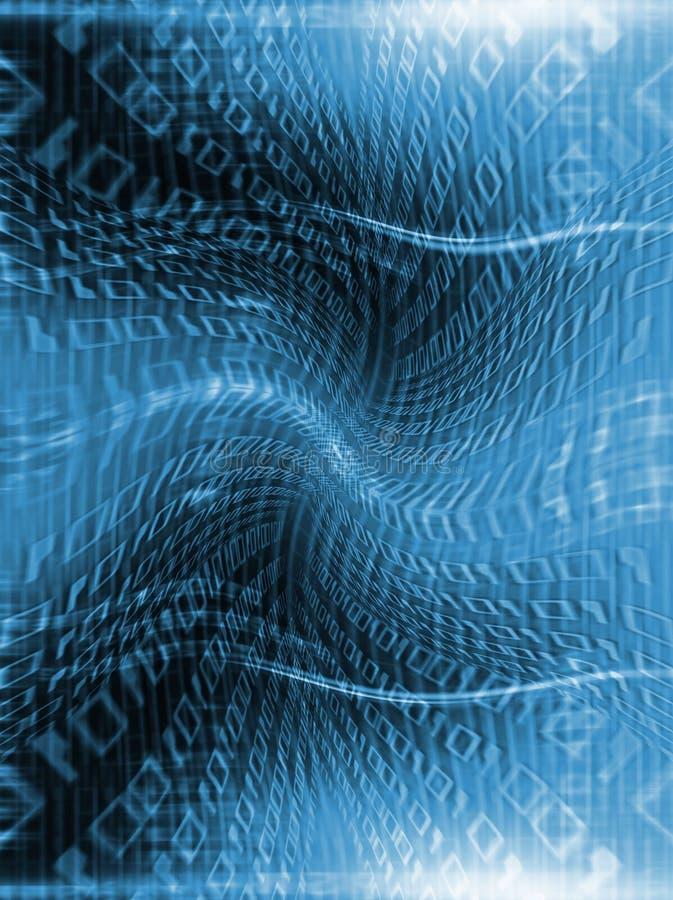 binärt flöde vektor illustrationer