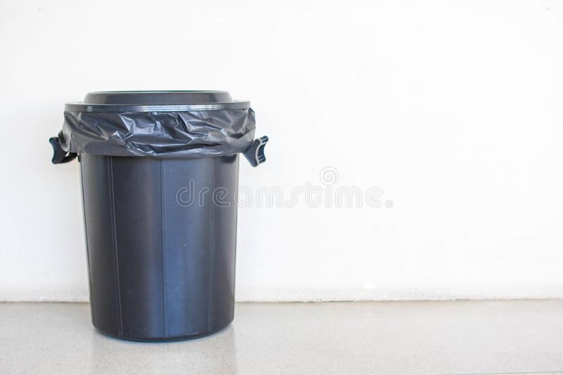 Bin in the background a white wall.  stock photos