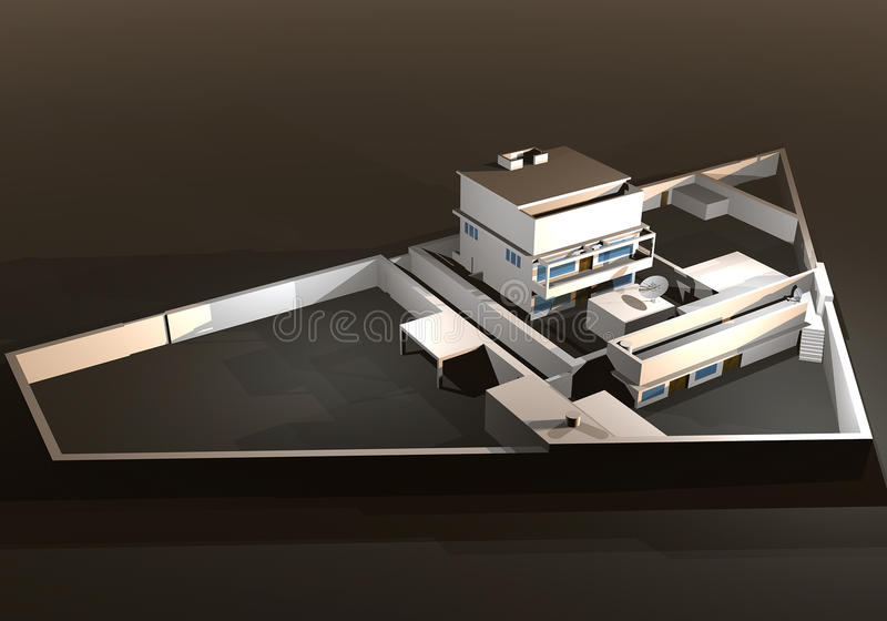Bin Laden Refuge-home In Abbottabad Editorial Photography