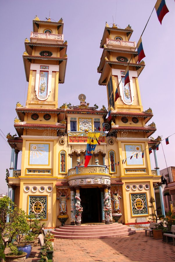 Free Bin Luc Temple In Vietnam Royalty Free Stock Photography - 8090837