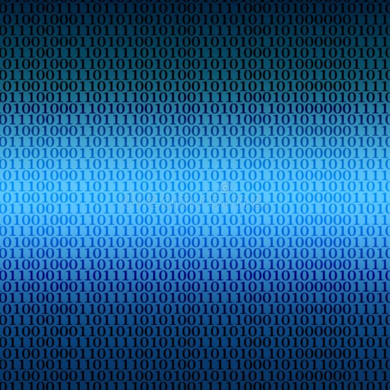 Binaire aansluting achtergrond vector illustratie