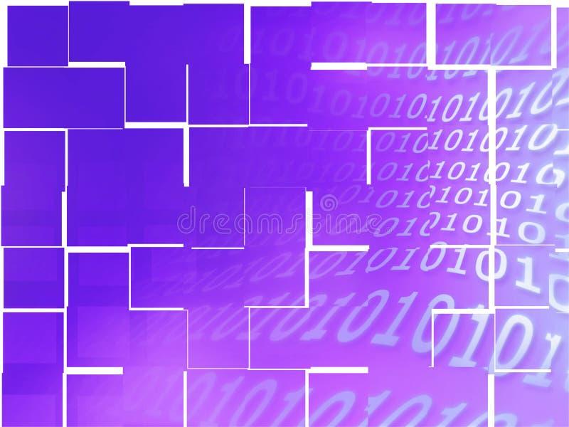 Binaire codetextuur stock afbeelding