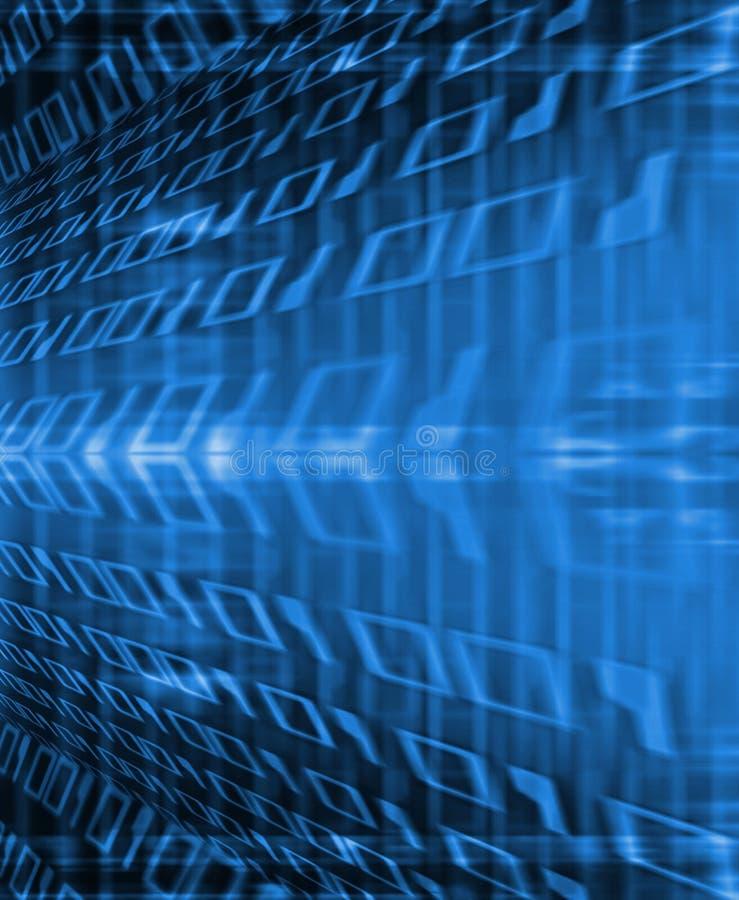 Binaire stroom stock illustratie