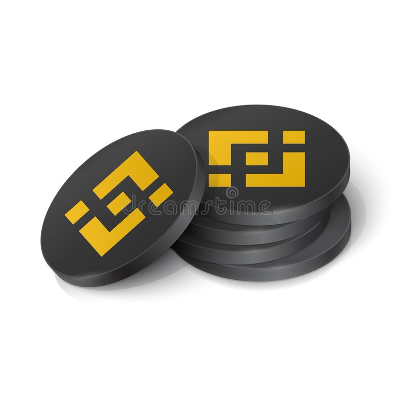 Free Binance Coin Cryptocurrency Tokens Stock Photos - 165626443