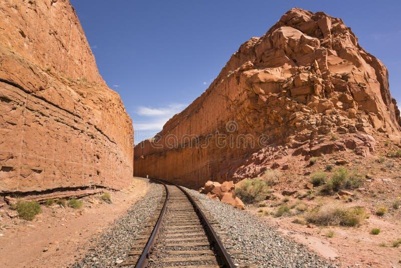 Binario ferroviario immagine stock libera da diritti