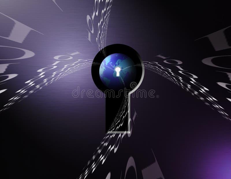 binarna ziemi royalty ilustracja