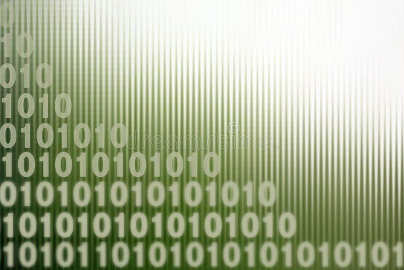 binarni kody royalty ilustracja