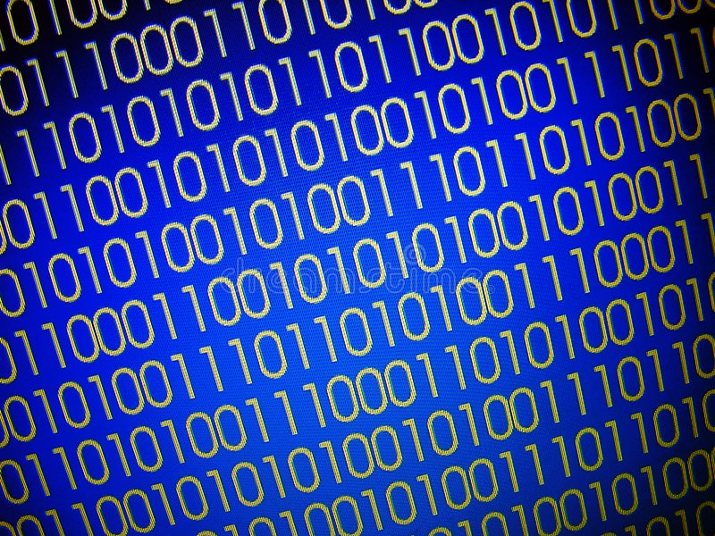 binarni kody ilustracja wektor