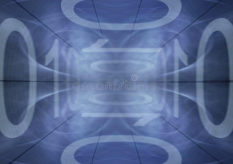binarny tło royalty ilustracja