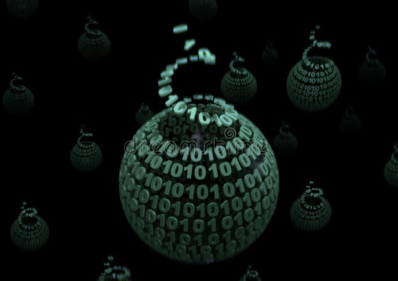 binary развертывает иллюстрация штока