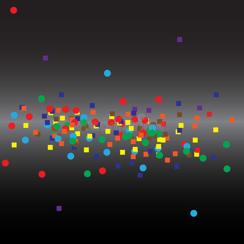 Binary abstract background royalty free illustration