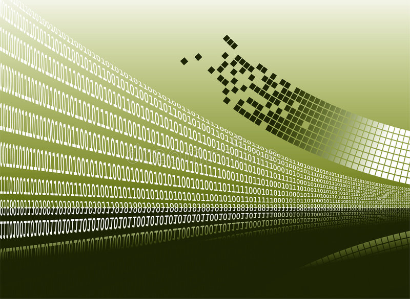 Download Binary Background Royalty Free Stock Photography - Image: 5199597