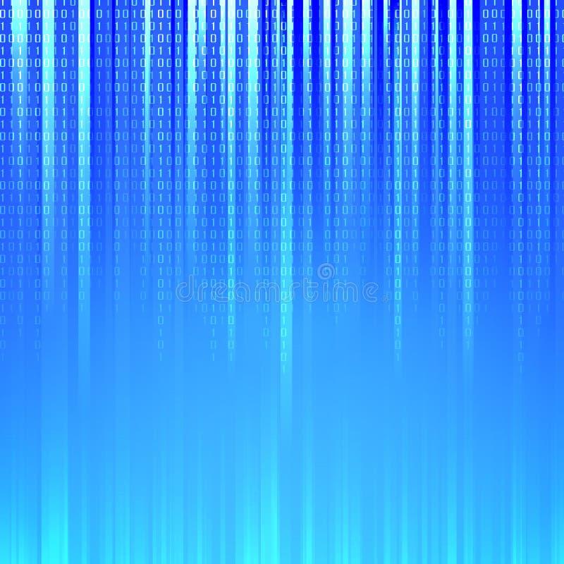 Download Binary code stock vector. Image of information, glow - 28515985