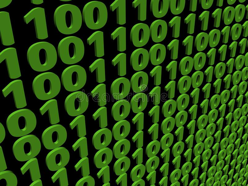 Download Binary Code Background Royalty Free Stock Photos - Image: 11760808
