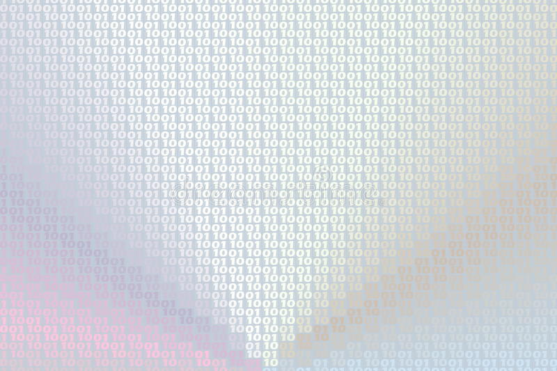 Download Binary code background stock illustration. Image of bright - 20895858