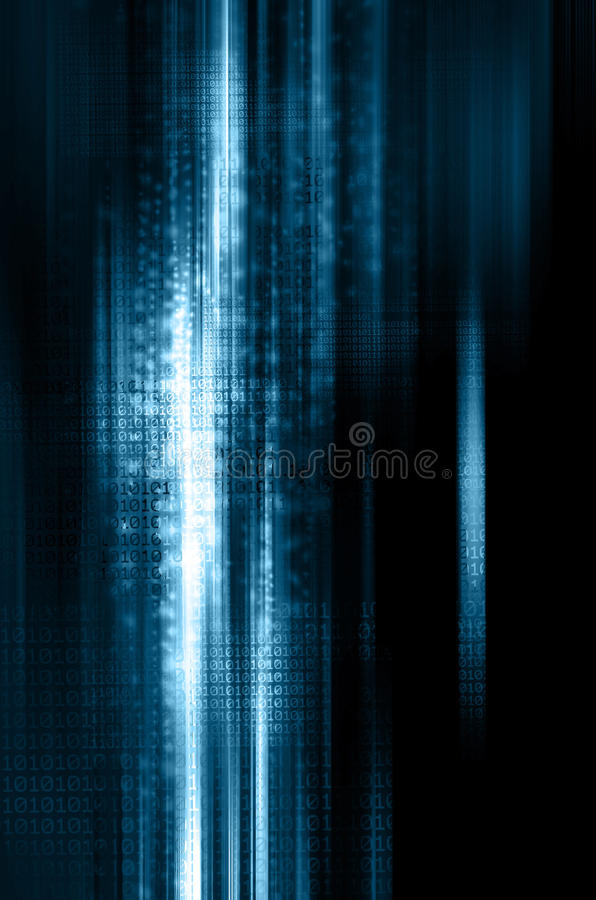 Binary code background. Binary code One zeros background royalty free stock photography