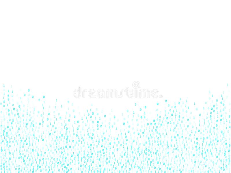 Binary code cyber monday sale background. vector illustration