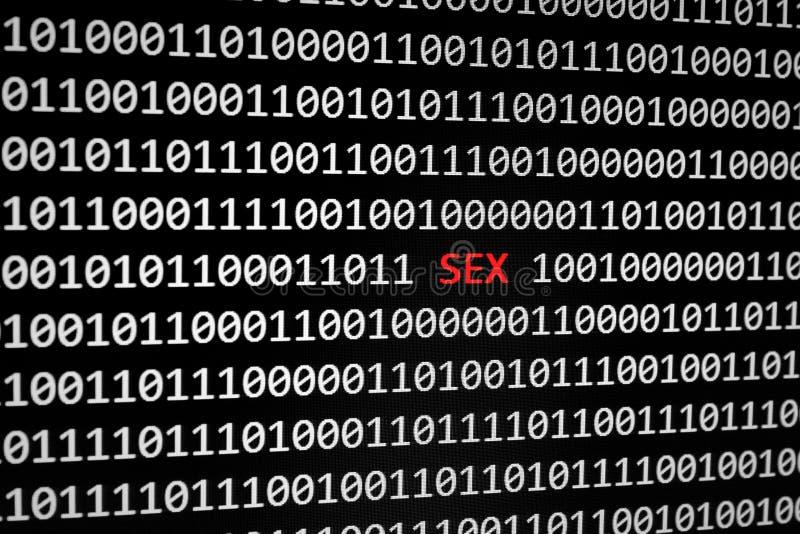 Porn on the internet royalty free stock photos