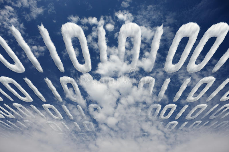 Download Binary code transfer stock photo. Image of concept, data - 16582512