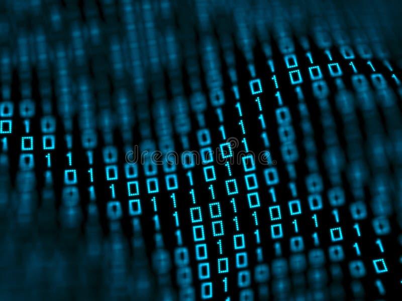 Binary data royalty free stock photo