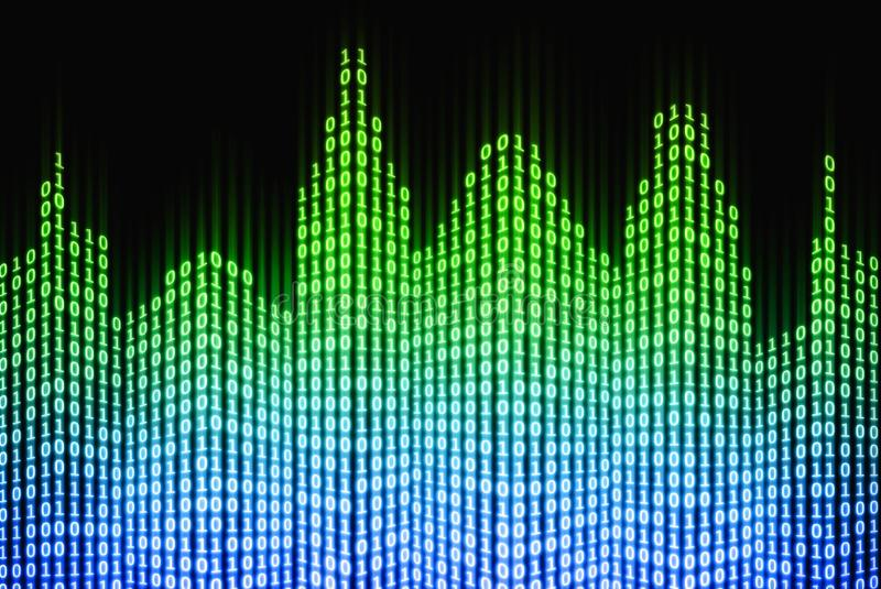 Download Binary Digital City, Abstract 3d Tech Background Stock Photos - Image: 21247373