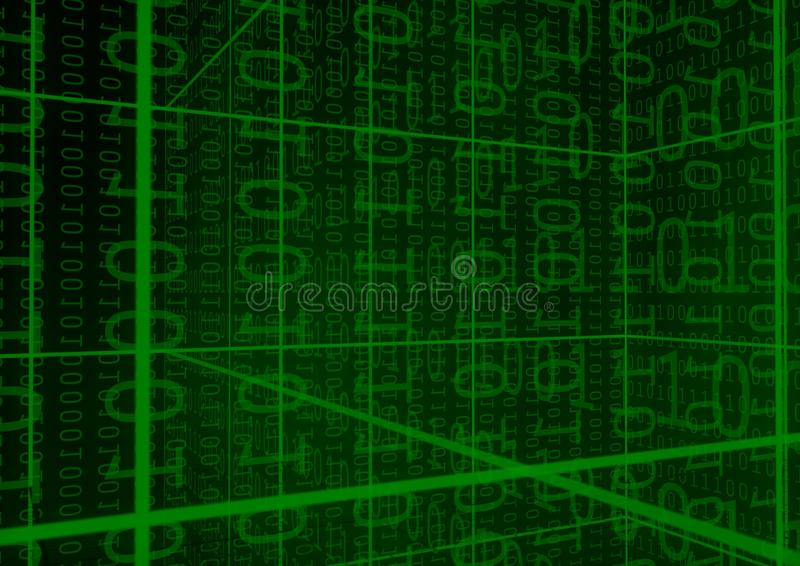 Download Binary Digits background stock image. Image of frame - 14937415