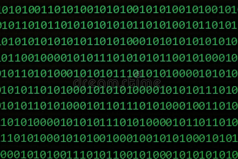 Download Binary numbers stock photo. Image of code, digit, electronics - 19850996
