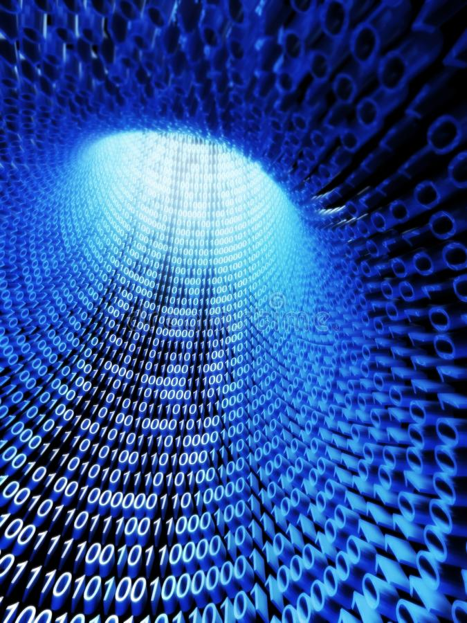 Download Binary Stream, Flow Of Information Stock Image - Image: 20117351
