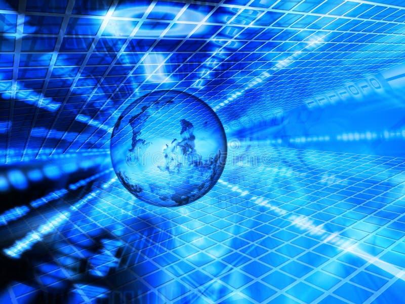 Download Binary world stock illustration. Illustration of technology - 462853