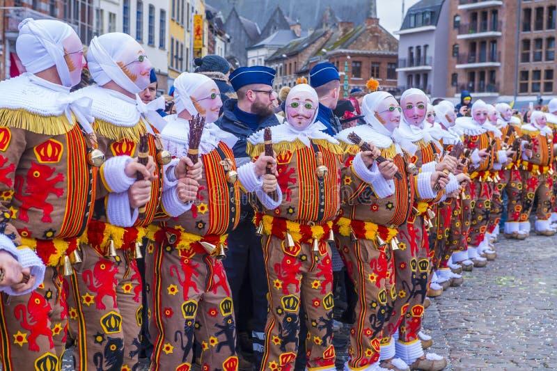 2017 Binche karnawał obrazy royalty free
