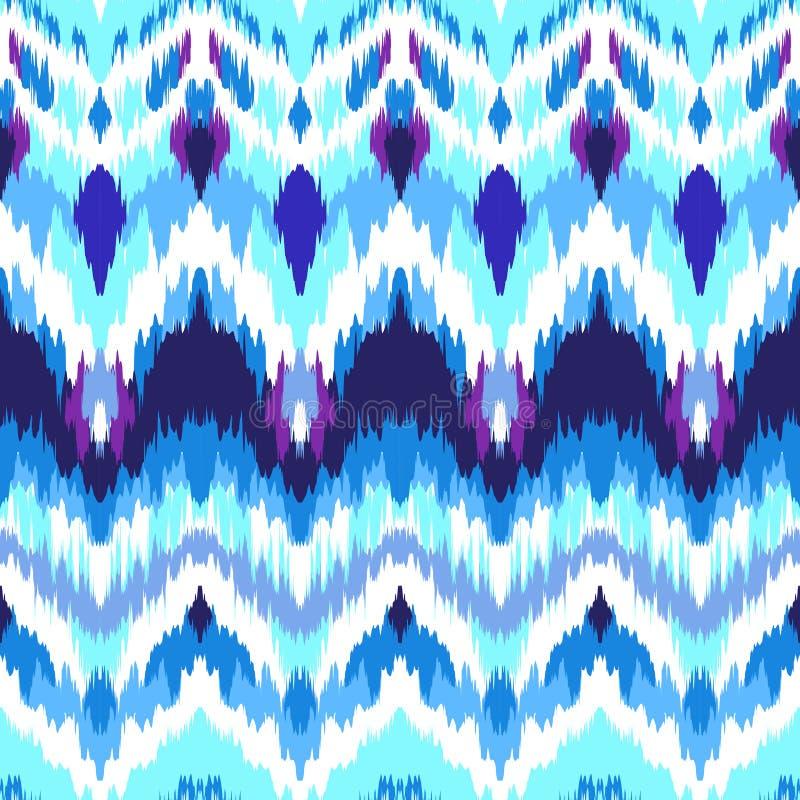 Bind kleurstofpatroon vector illustratie