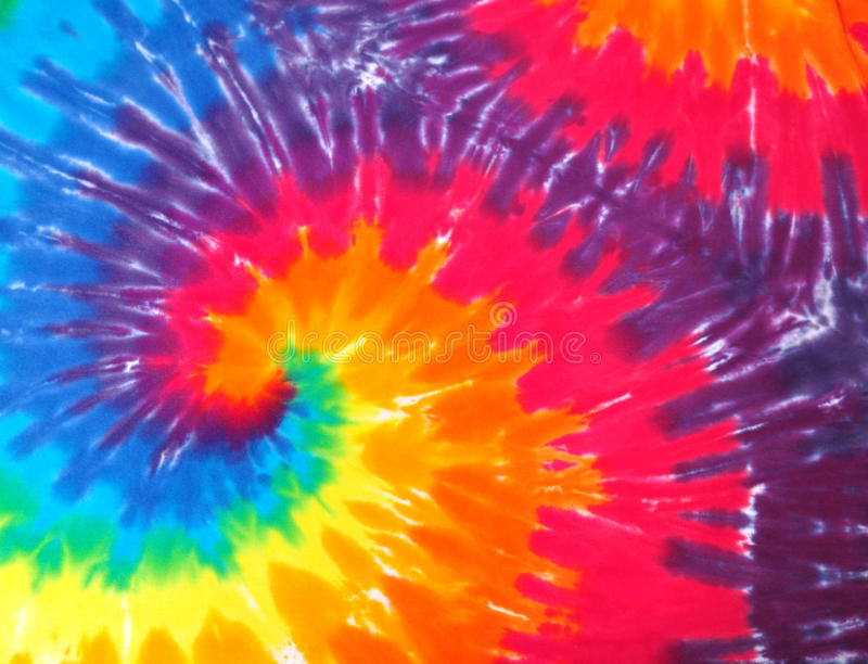 Bind kleurstofsamenvatting royalty-vrije stock afbeelding