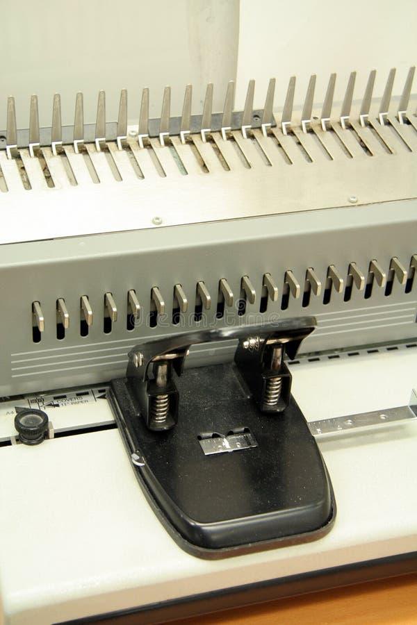 Bindende Machine stock fotografie