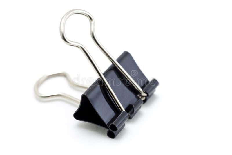Binder clip stock image