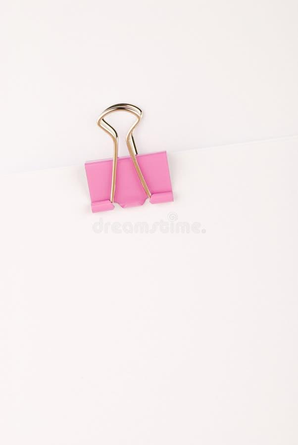 Binder Clip stock images