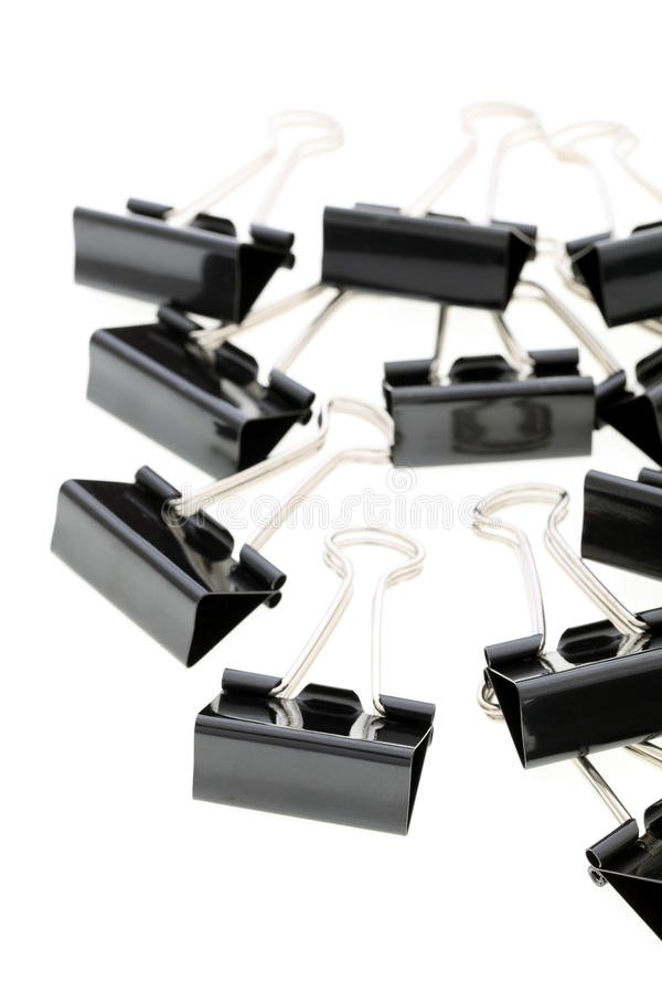 Download Binder clips stock photo. Image of desk, nobody, accessory - 25441882