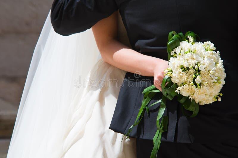 binder crystal smycken för parcravaten bröllop royaltyfri bild