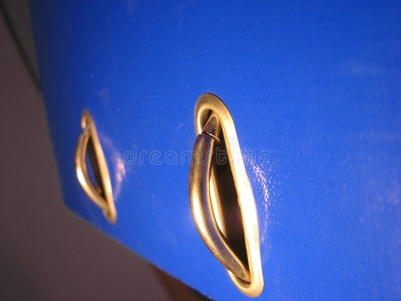 Download Binder rings on blue cover stock image. Image of detailed - 3140409