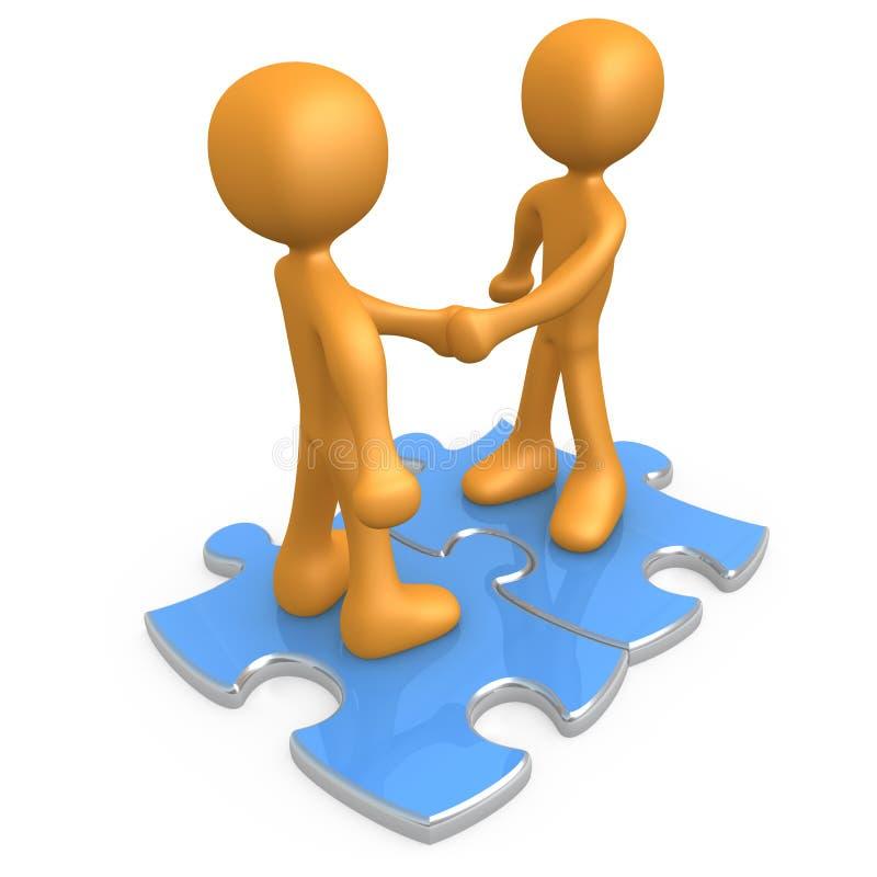 Binding Agreement. Computer generated image - Binding Agreement vector illustration