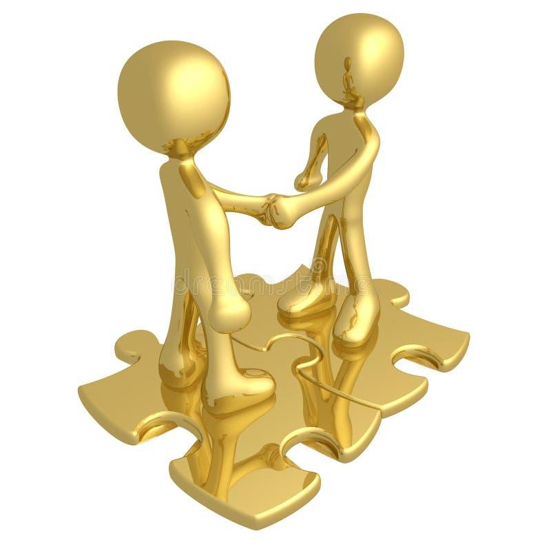 Binding Agreement. Computer generated image - Binding Agreement stock illustration