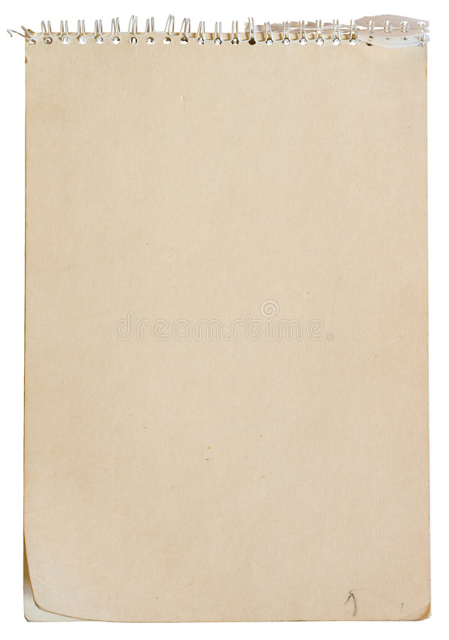 binding anteckningsbokspiral royaltyfri fotografi