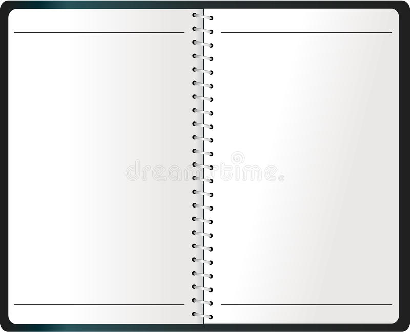 Binding Notebook (Agenda) vector vector illustration