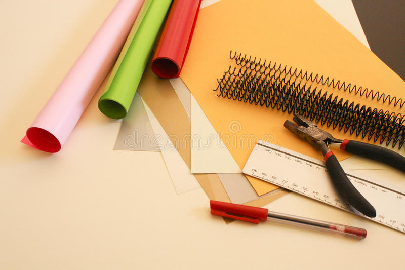 Download Binding stuff stock image. Image of color, colorful, decorative - 16318309