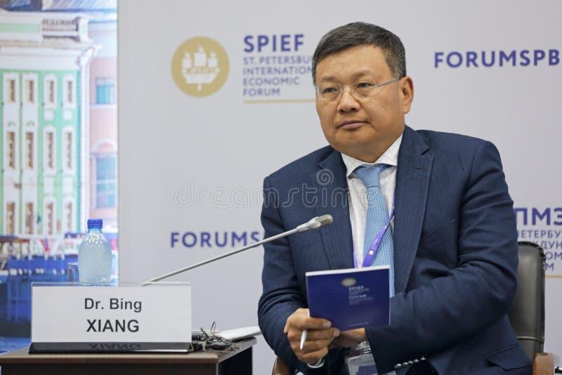 Bing Xiang stock foto's