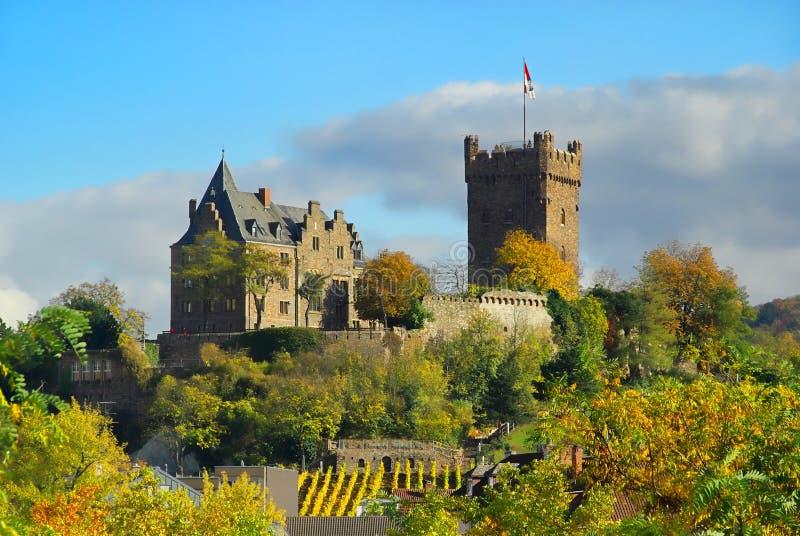 Bingen castle Klopp stock image