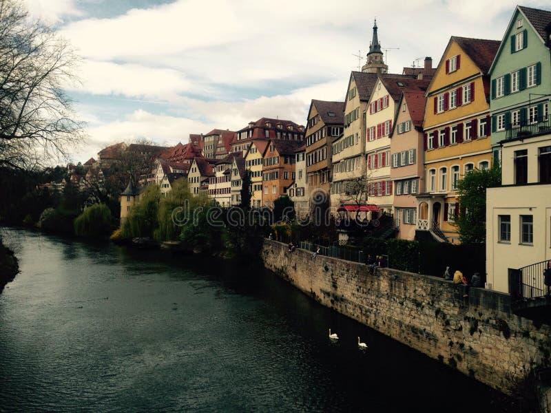 Bingen del ¼ di TÃ, Germania fotografie stock libere da diritti