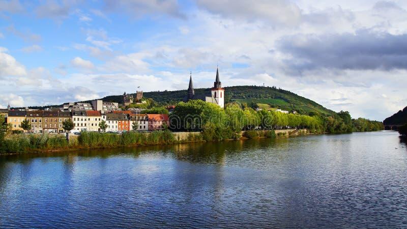 Bingen. Tyskland royaltyfri bild