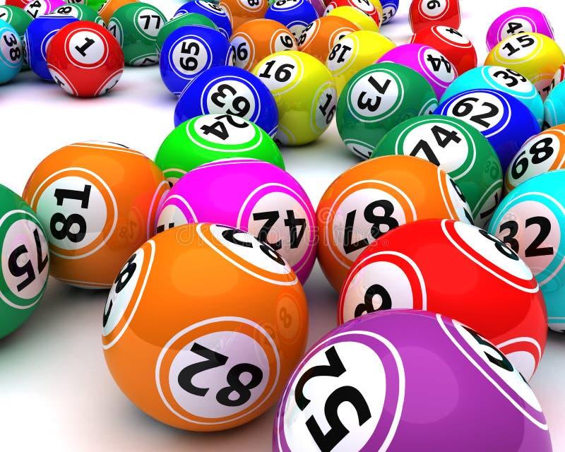bingo шариков покрасил комплект бесплатная иллюстрация