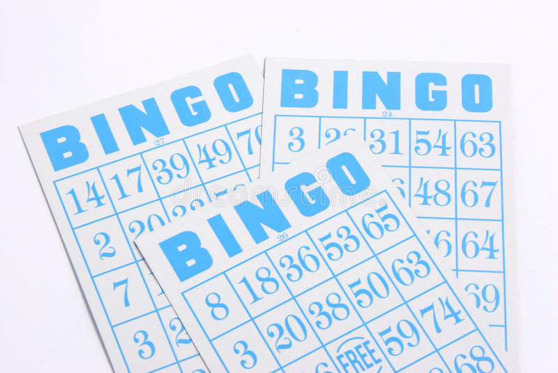 Download Bingo 02 stock photo. Image of ludopathy, blue, isolate - 274222